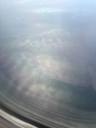 You can (hopefully) see the texture of the water from Lake Michigan.