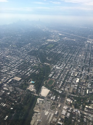 When landing in Chicago, you can see just how vast the city really is.