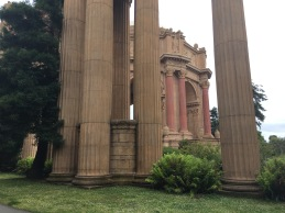 Pillars and Dome from the Palace of Fine Arts, originally created for the Chicago Worlds Fair.