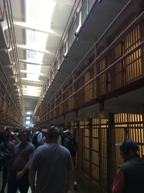 Some of the cells from Alcatraz.
