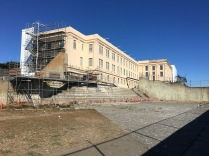 The administration building on Alcatraz.