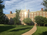 The main building of Brown University