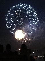 One of the many fireworks photos I took, many of which didn't come out so well. It was a great night, nevertheless.